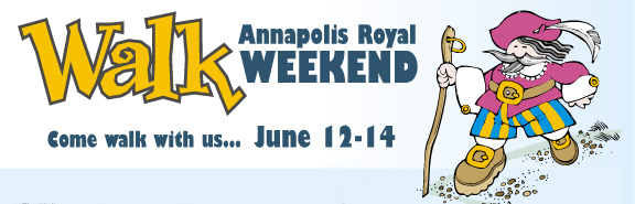 Walkfest on Tap for Annapolis Royal, Nova Scotia