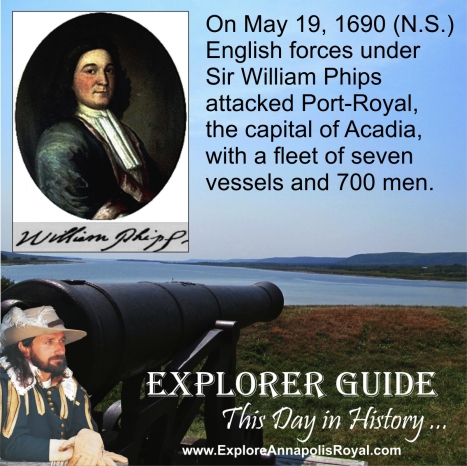 This Day in History - May 19, 1690 (N.S.)