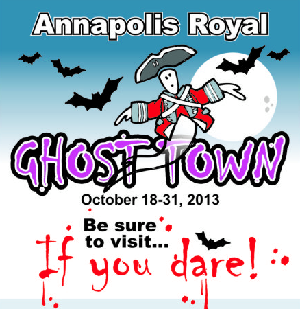 EXPLORE GHOST TOWN...If You Dare!